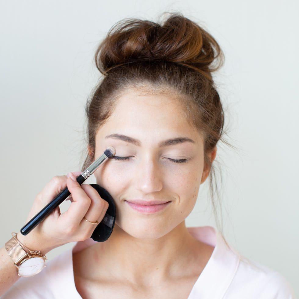 Braut-Make-up Beispiele