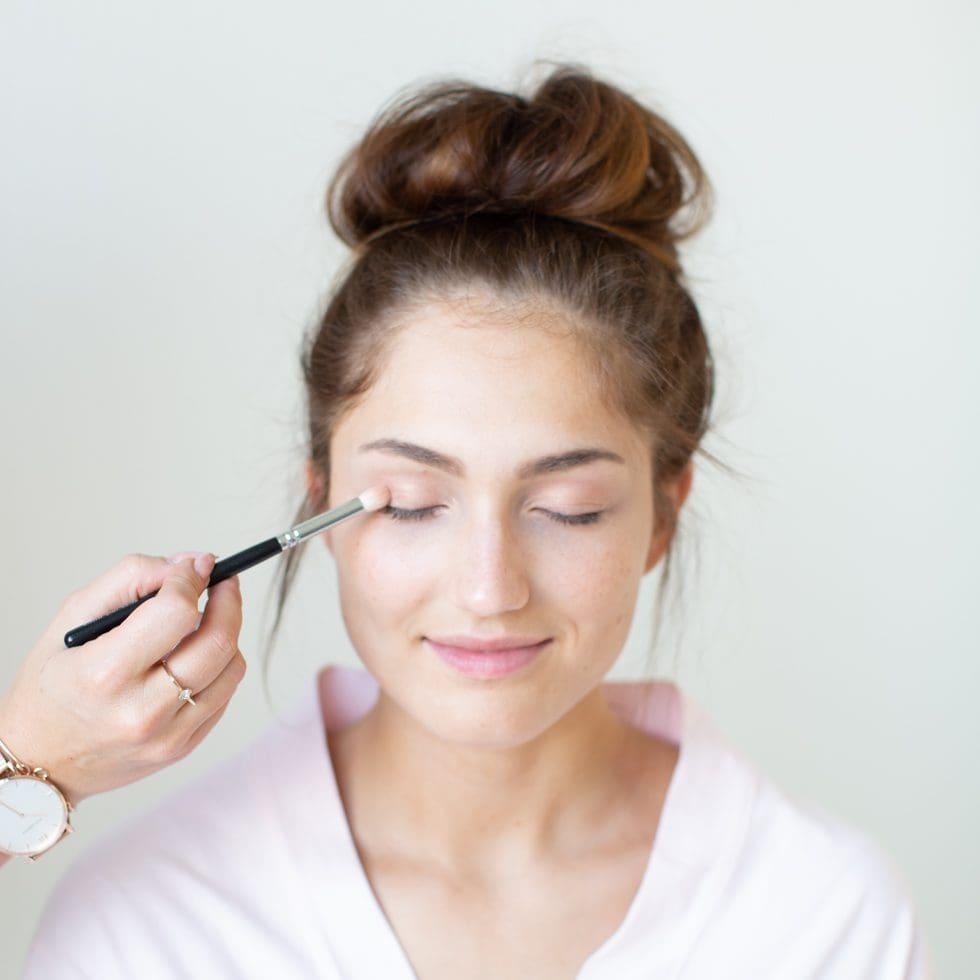 Braut-Make-up Dezent
