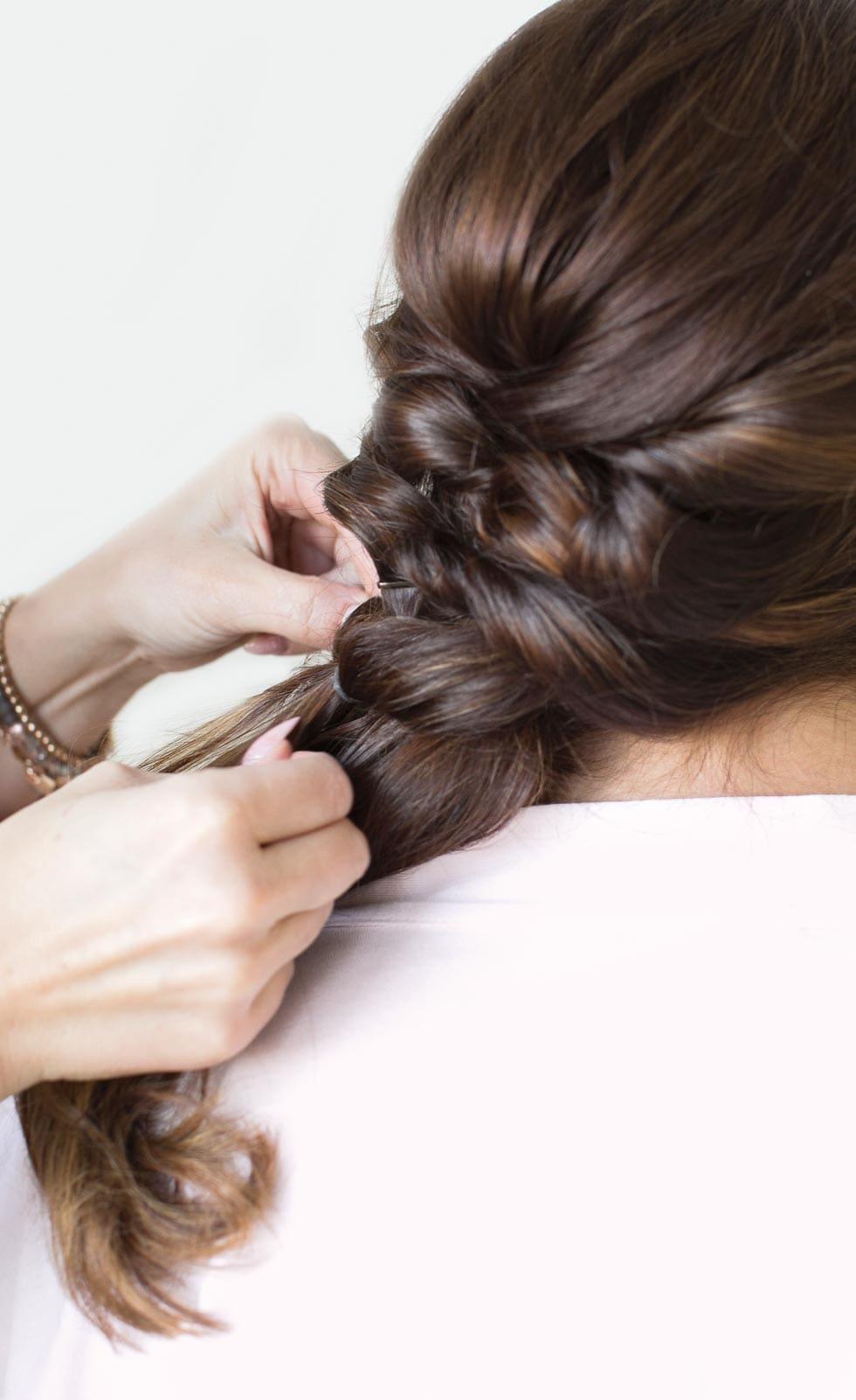 Tutorial Frisur Braut