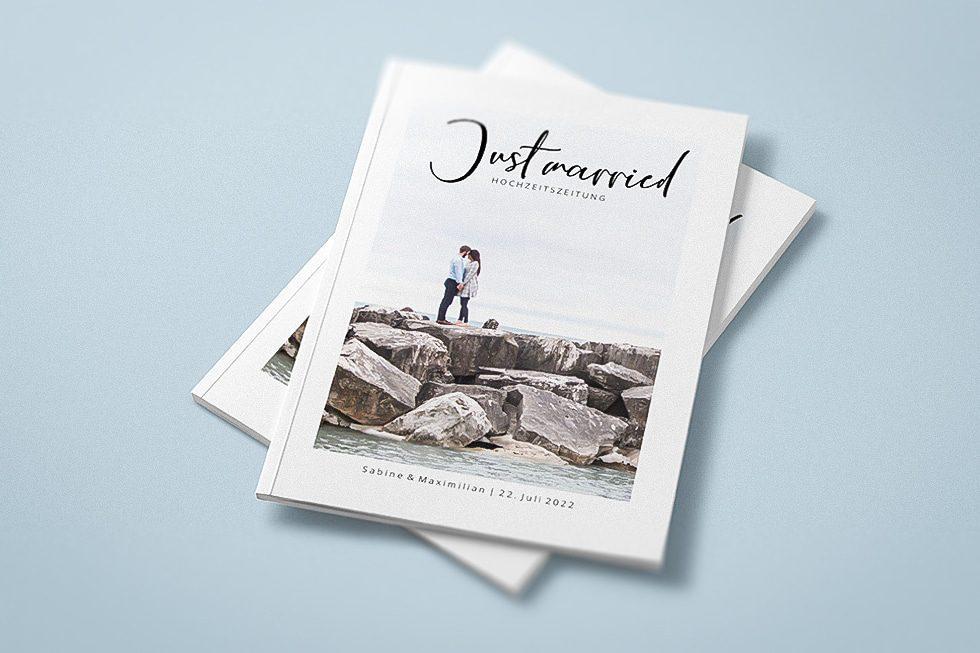 Hochzeitszeitung Titelblatt Ideen