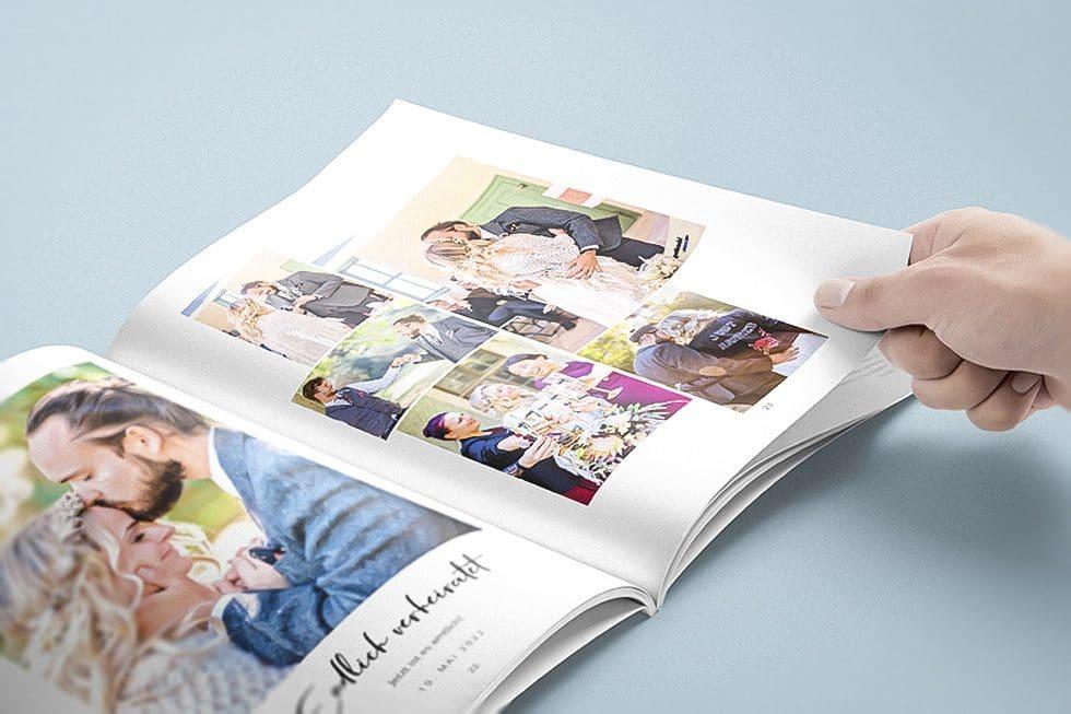 Hochzeitszeitung Standesamtbilder
