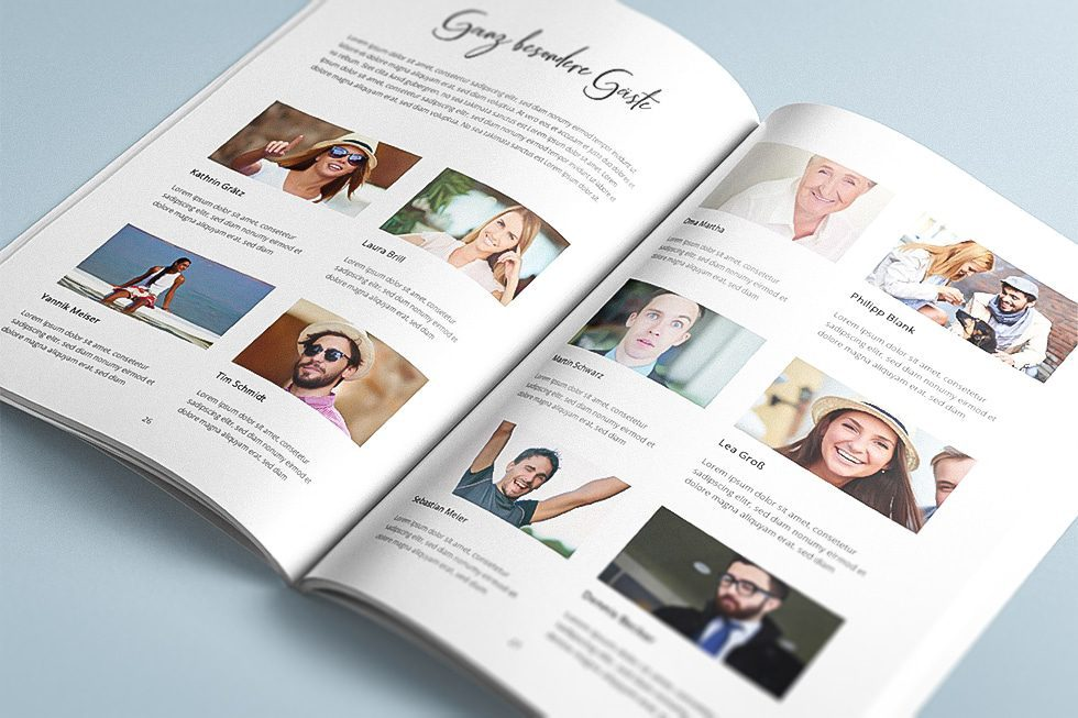 Hochzeitszeitung Ideen für Freunde