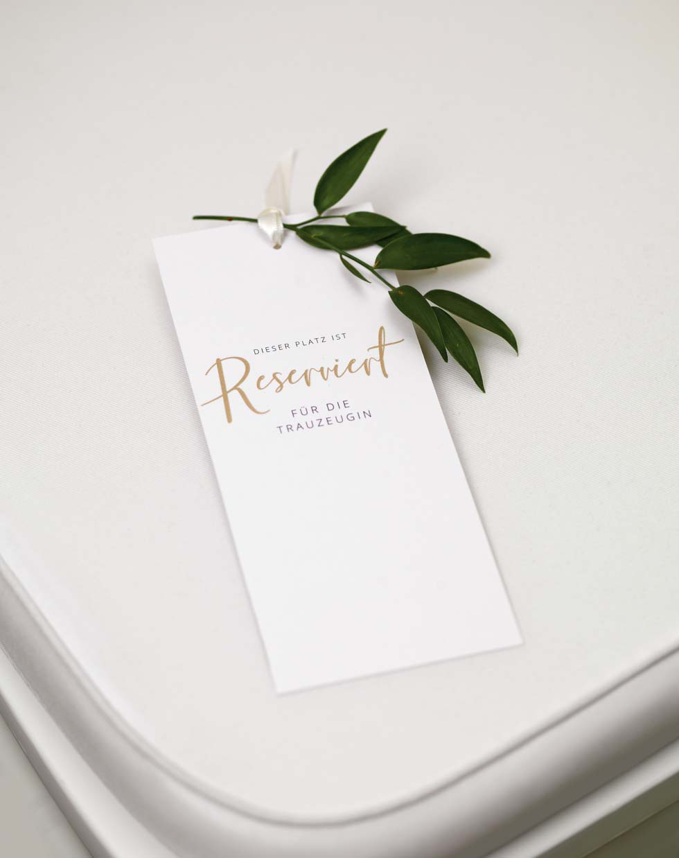 Reserviert-Schild DIY Hochzeit