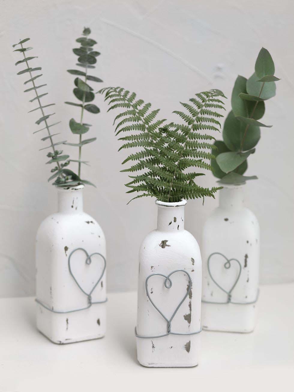 Vasen mit Kreidefarbe anpassen