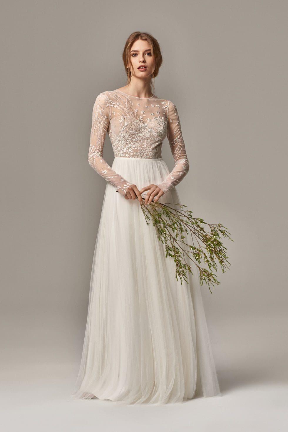 Brautkleidmodell Reese mit Spitze