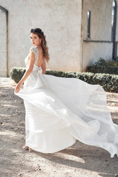 Brautkleid mit Tüll Anna Campbell