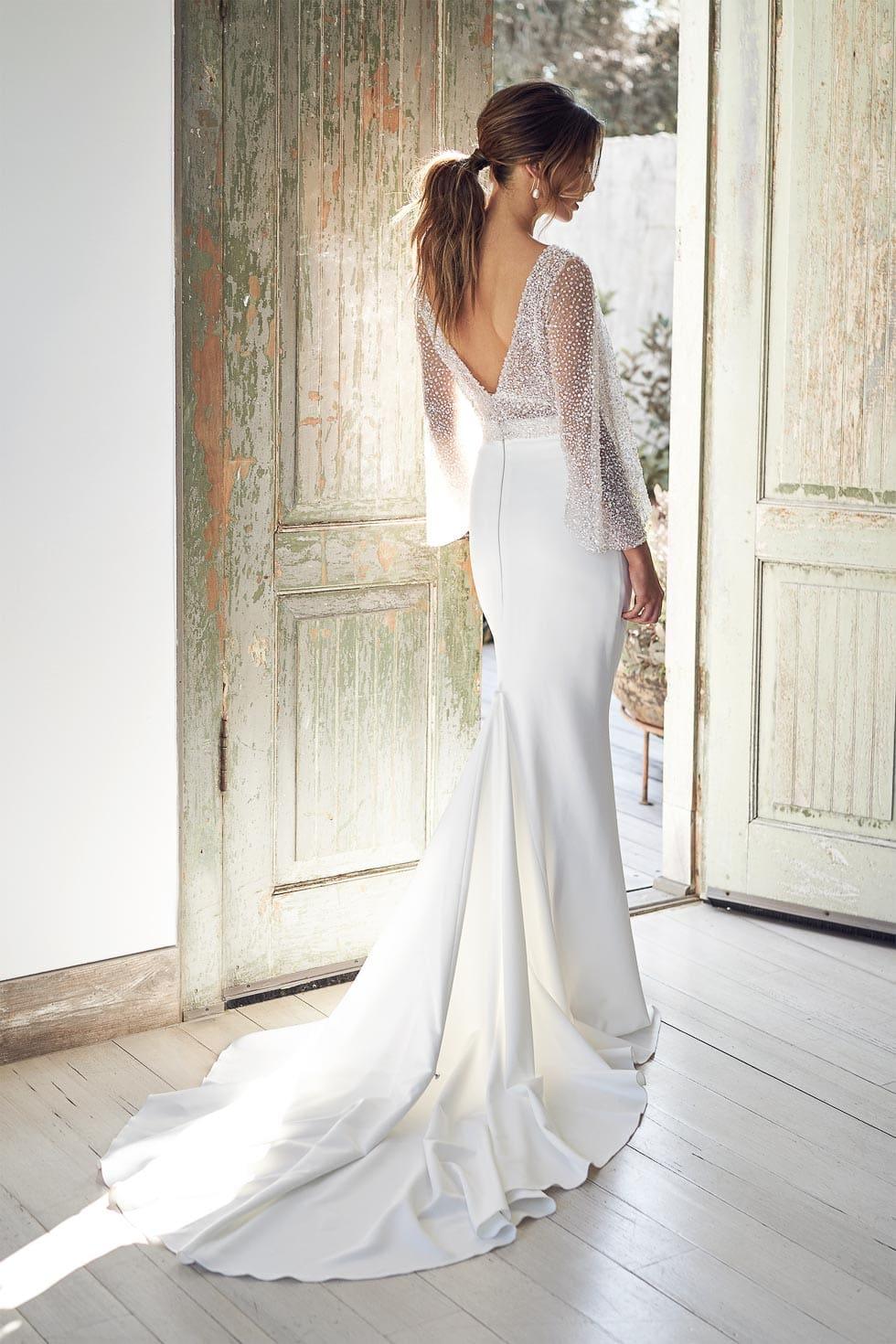 Brautkleid Weiß von Bridget Anna Campbell