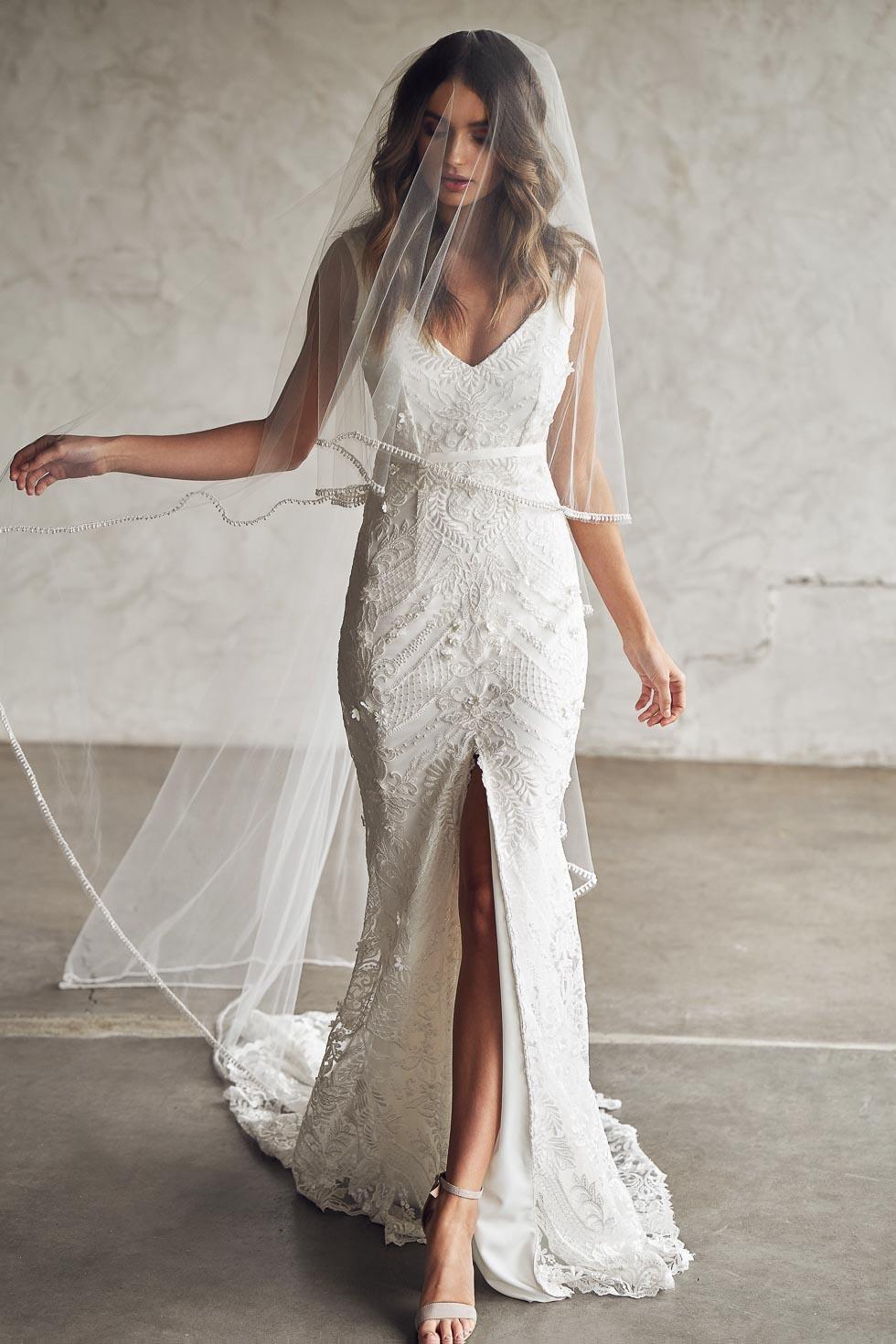Brautkleid mit Spitze Anna Campbell