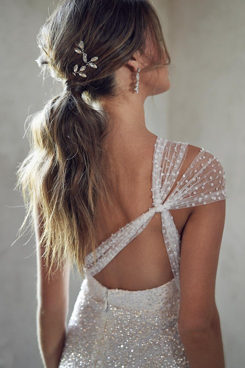 Brautkleid Rückenausschnitt Anna Campbell