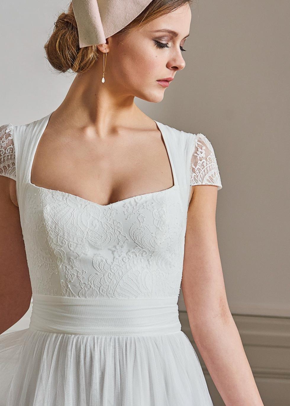 Brautkleid mit Tüll Lambert Creations