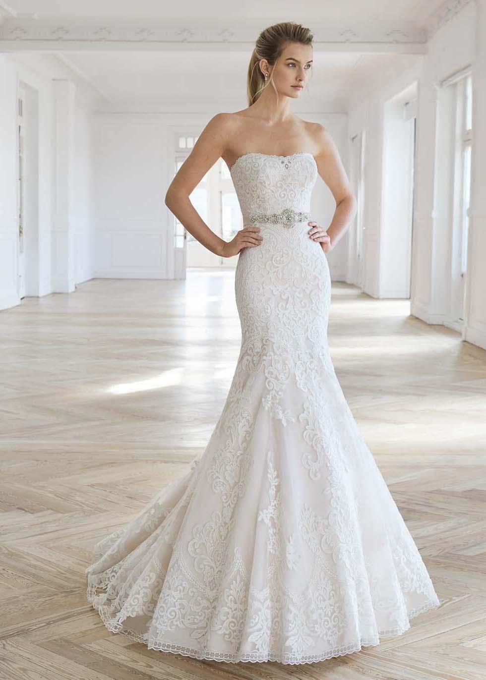 Hochzeitskleid Trompete