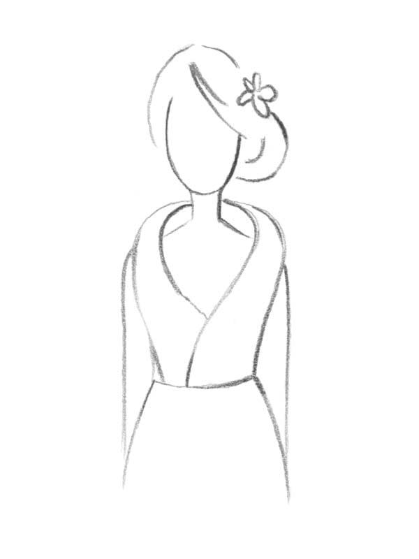 Brautkleid Kragen