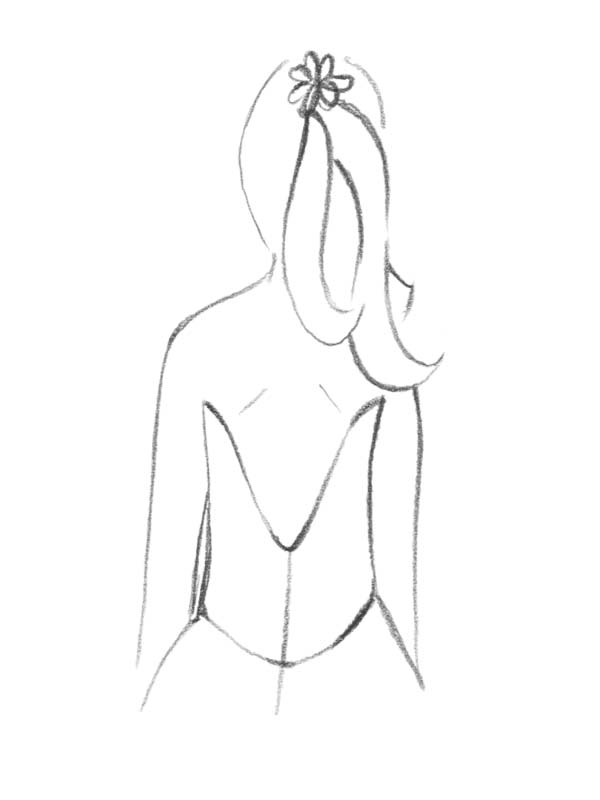 Brautkleid Rücken Ausschnitt