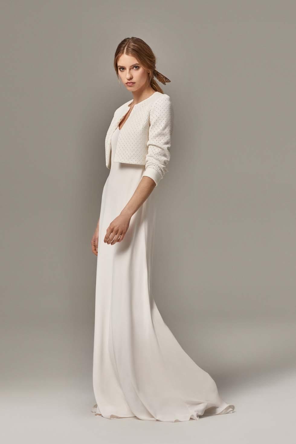 Brautkleid Bolero von Anna Kara