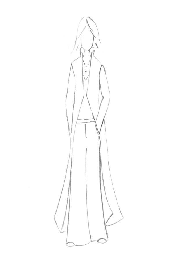 Brautkleid Anzug