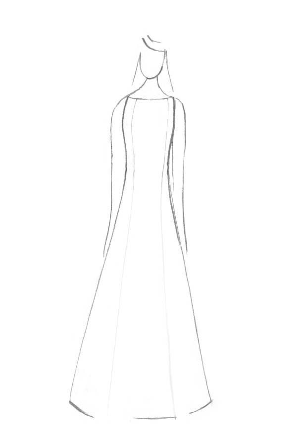 Brautkleid Form Prinzessin
