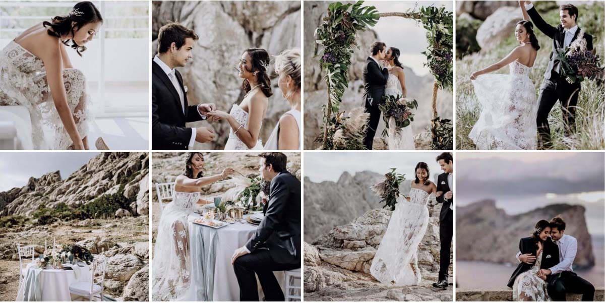 Hochzeitslicht Hochzeitsfotografie