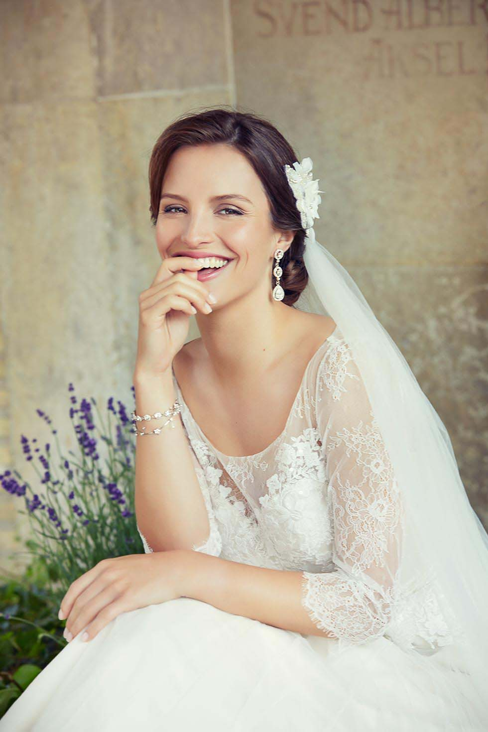 Brautkleid lange Ärmel Lilly