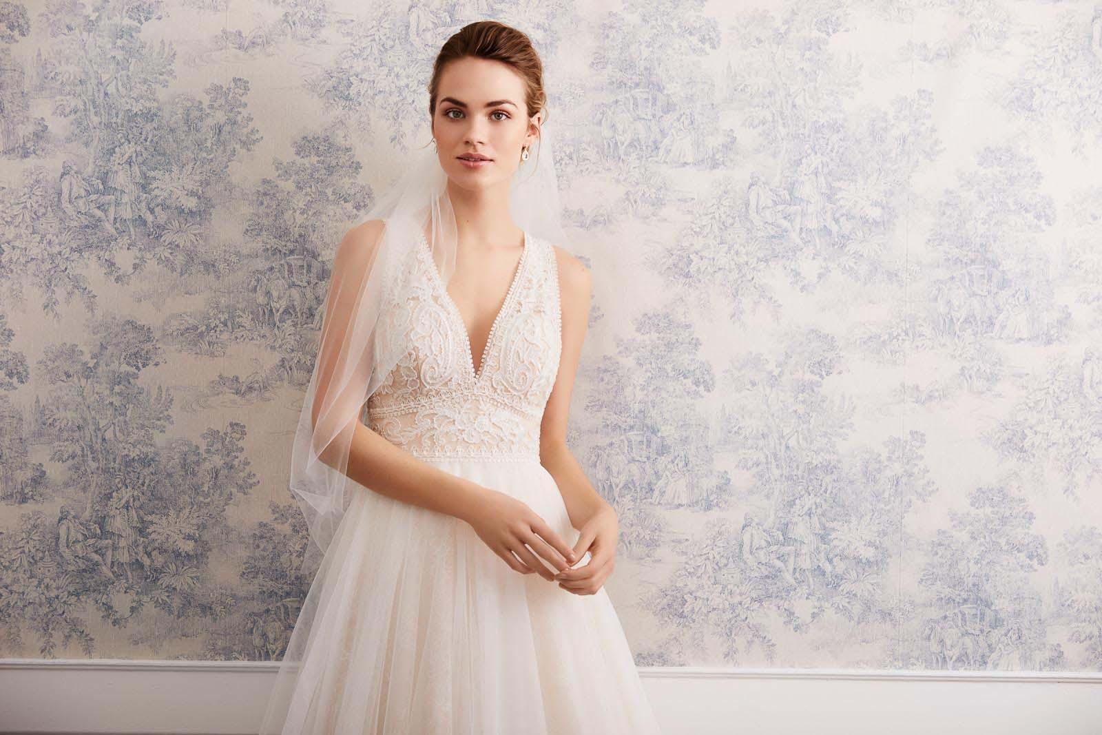 Brautkleid Spitze Lilly