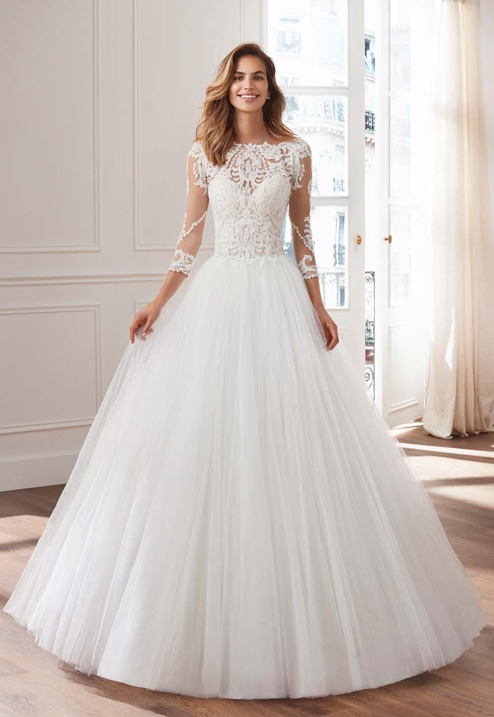 Brautkleid Duchesse