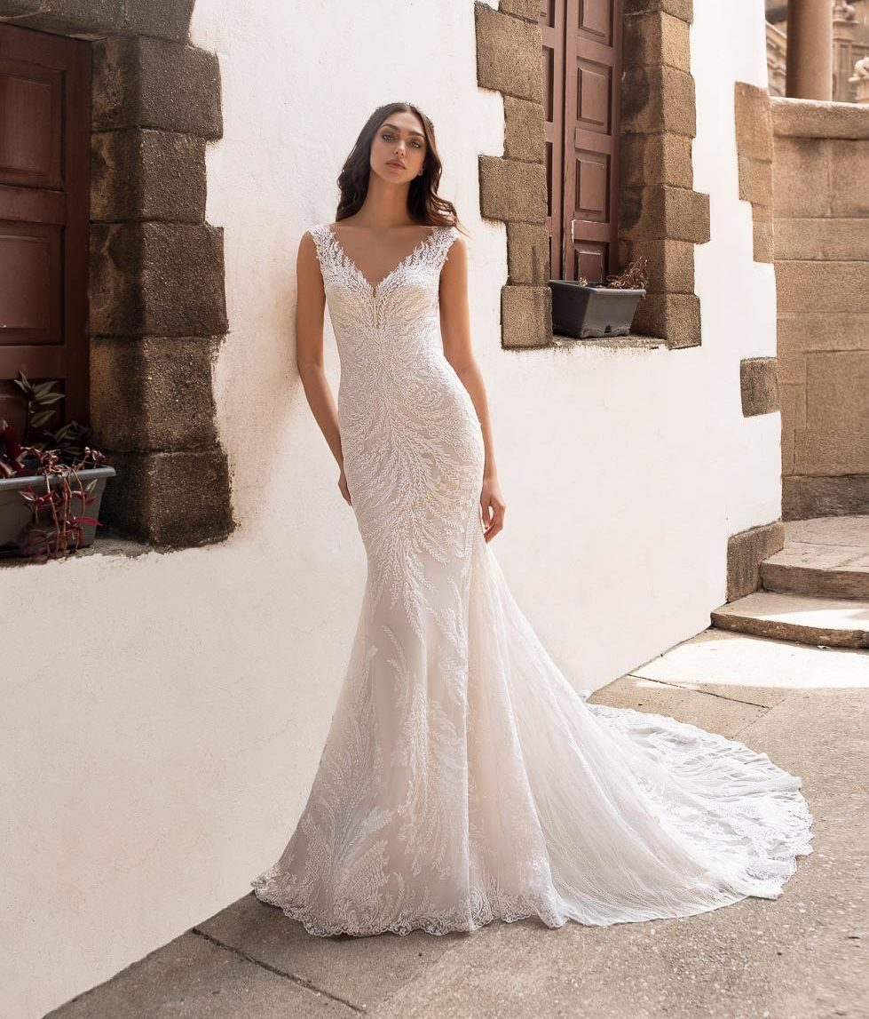 Brautkleid Meerjungfrau Rhea Pronovias