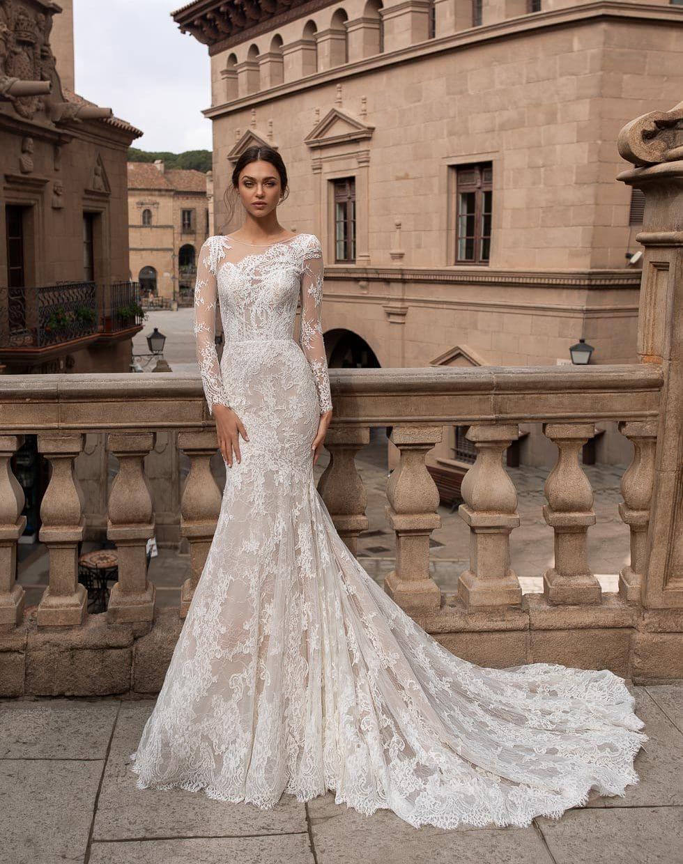 Brautkleid mit Spitze Thyone Pronovias