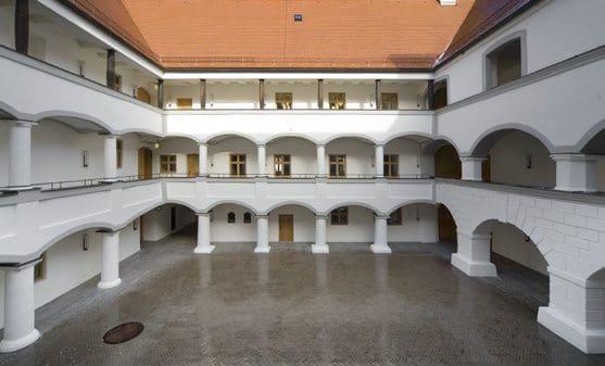 Innenhof Schloss Hohenkammer