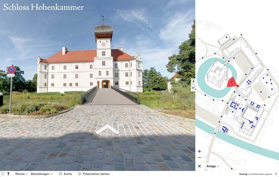 Virtueller Rundgang Schloss Hohenkammer