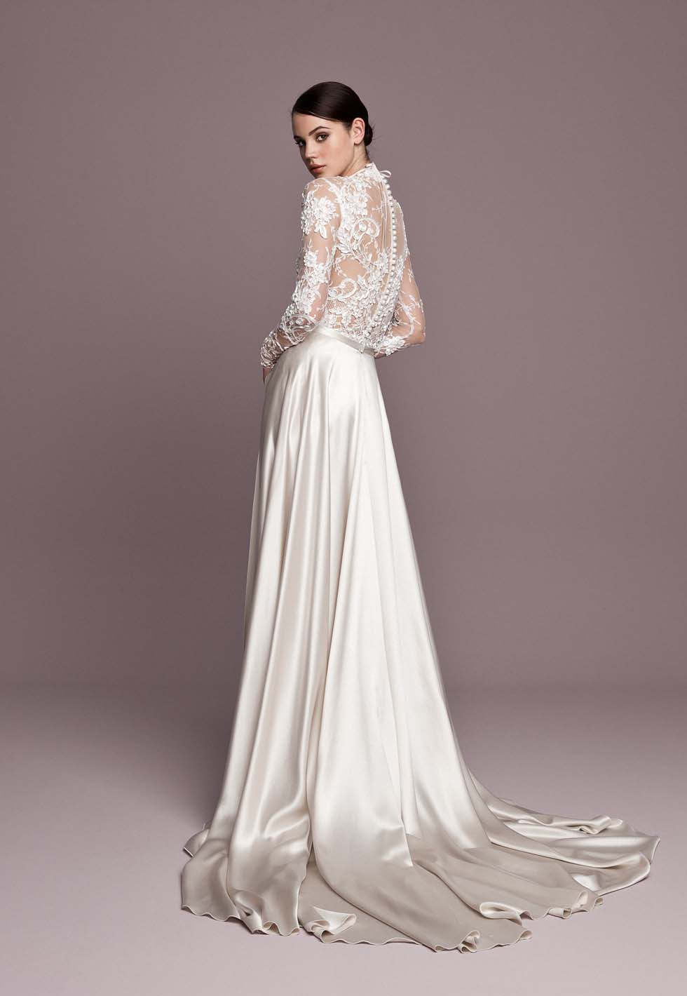 Brautkleid perlweiß Daalarna