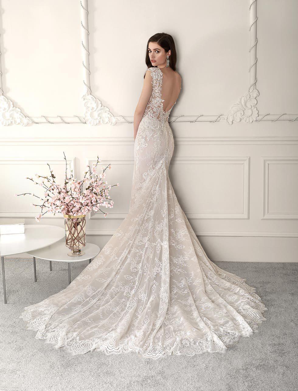 Brautkleid mit Spitze Demetrios