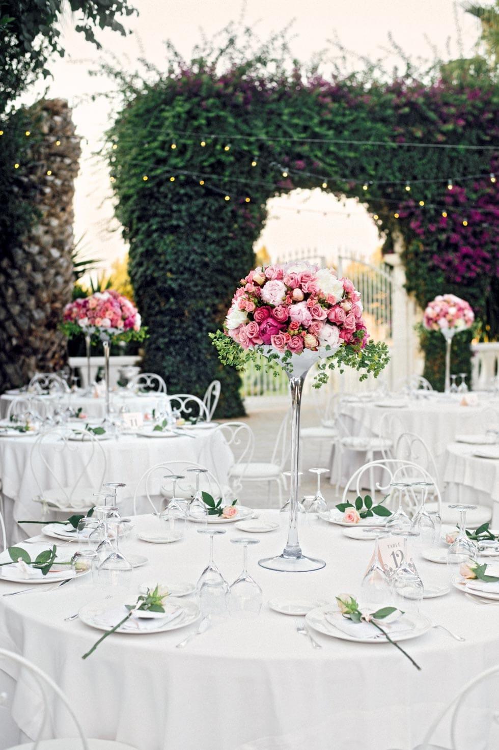 Tischordnung runde Tische