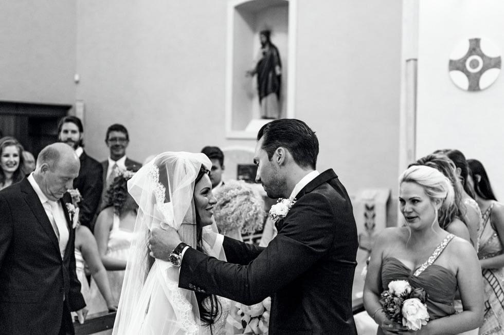 Kirchliche Trauung Brautpaar