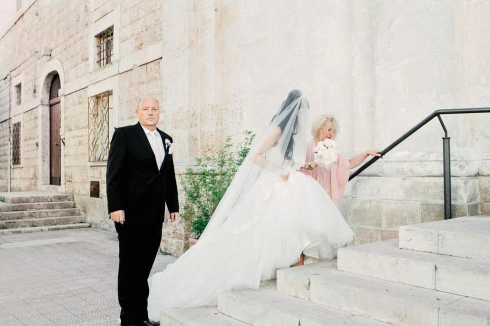 Einzug Braut Brauteltern