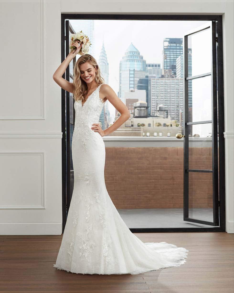 Hochzeitskleid Leathan Luna Novias
