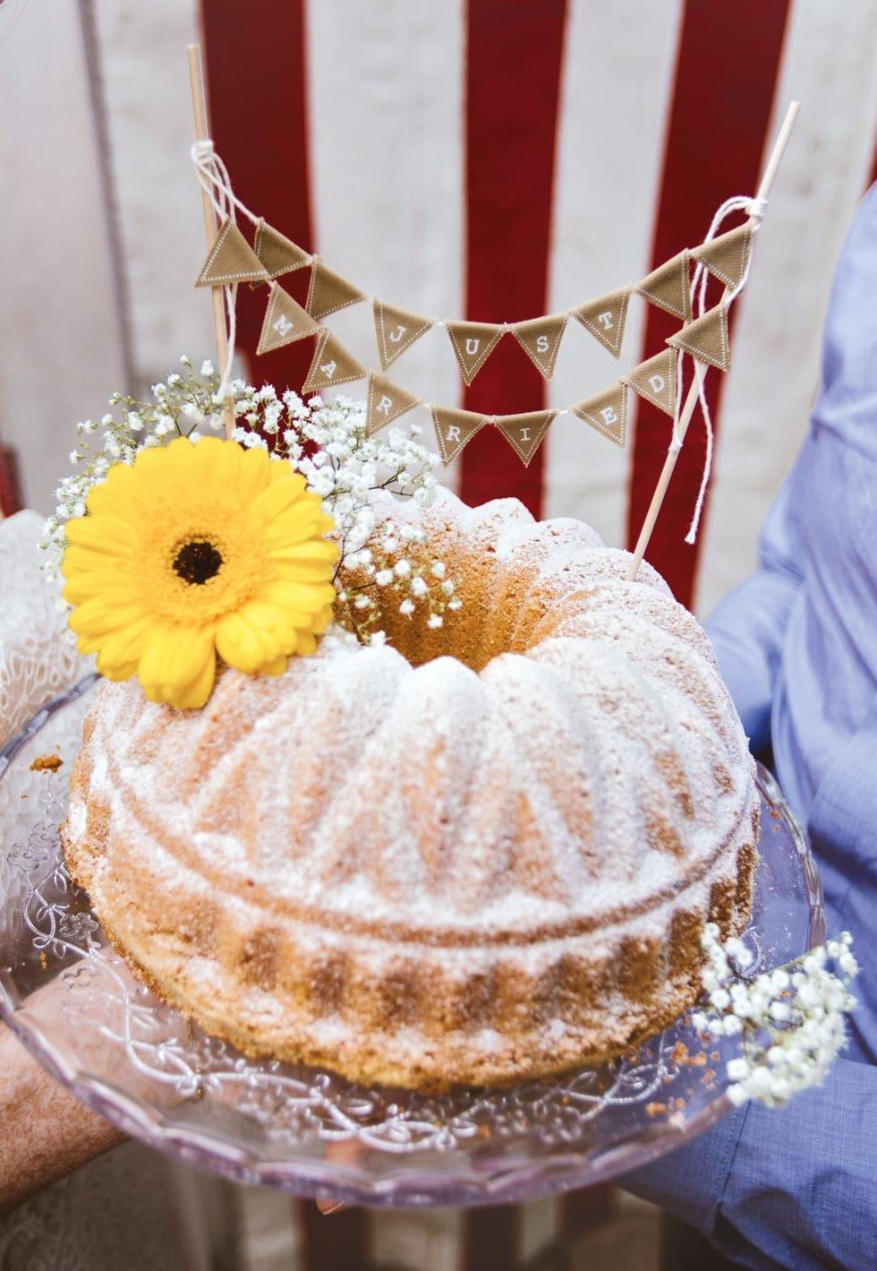 Hochzeitstorte Gugelhupf