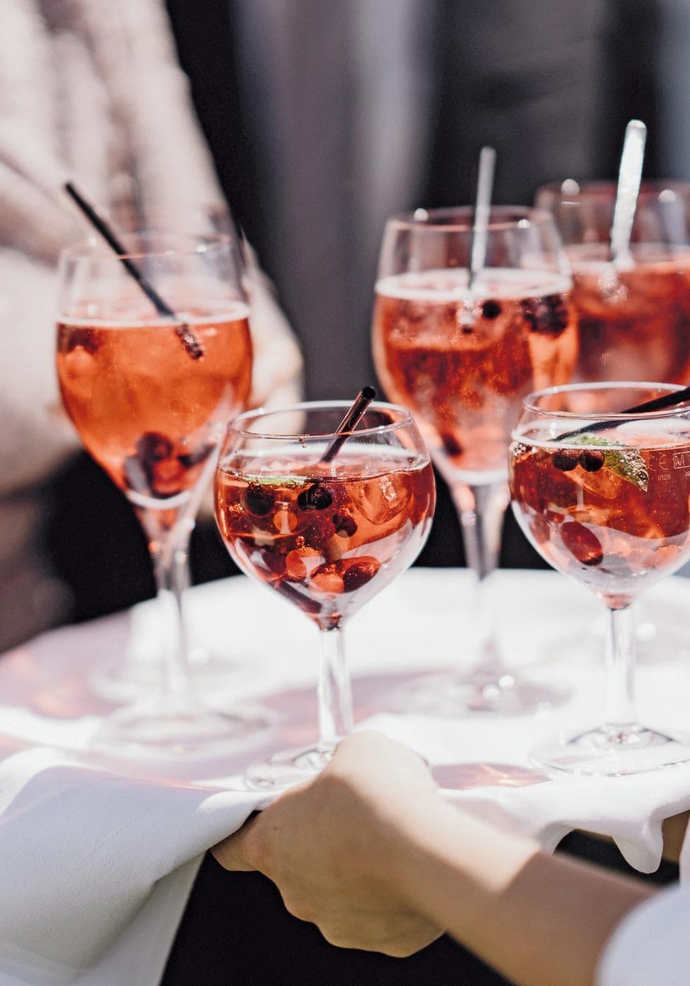 Sektempfang Weinschorle