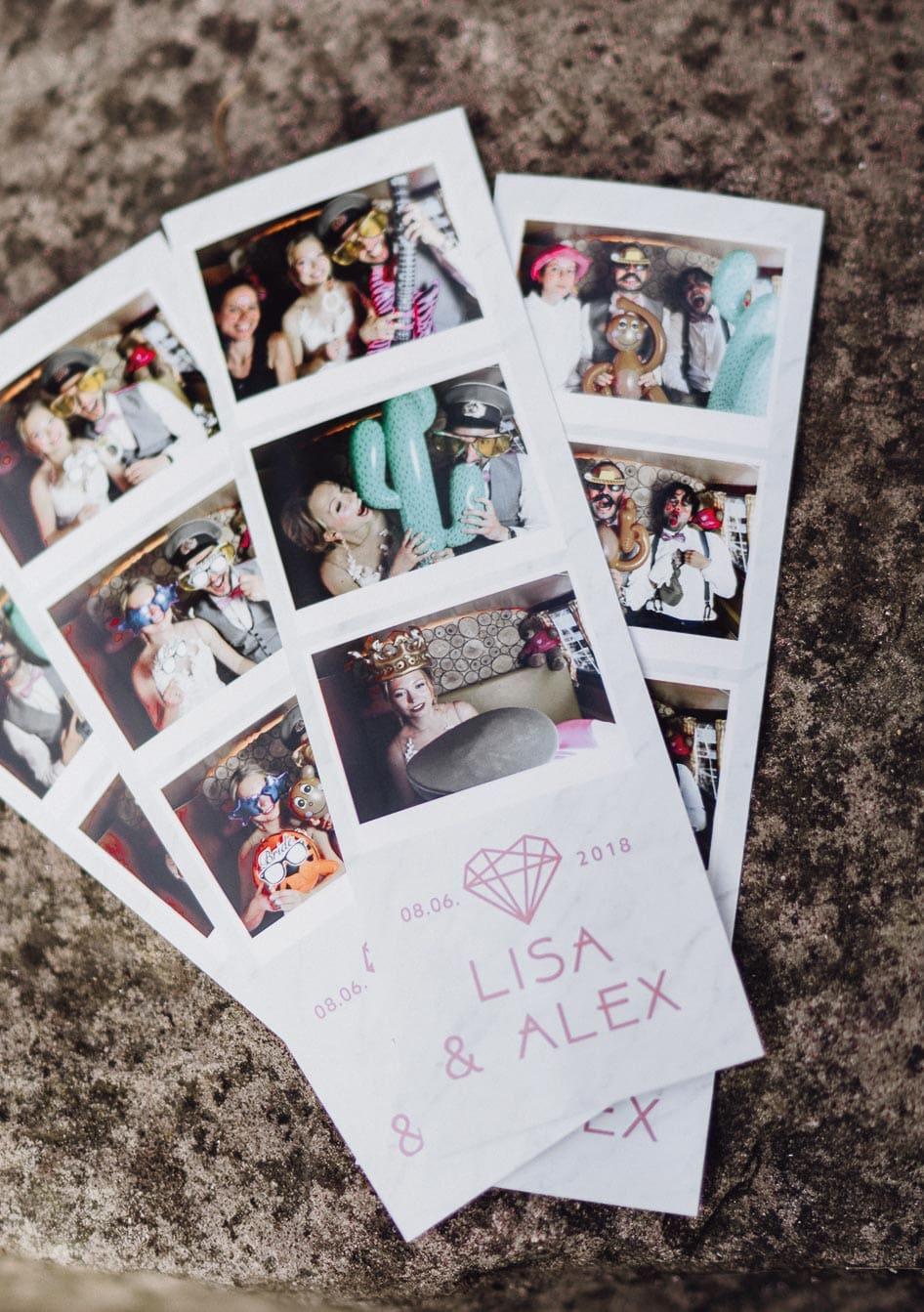 Fotobox Fotostreifen