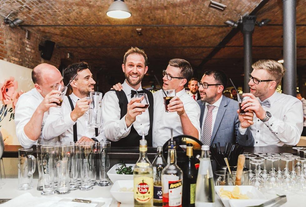 Whiskey Bar Hochzeit
