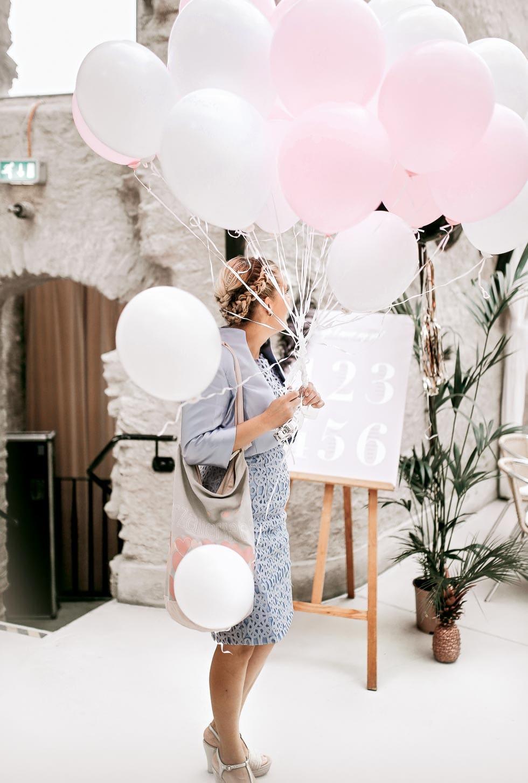 Heliumballons Hochzeit