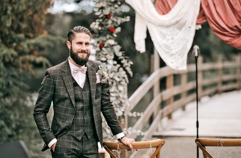 Hochzeitsanzug Vintage