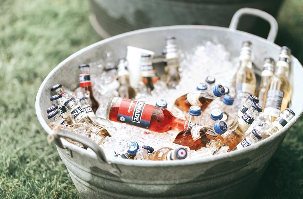 Sektempfang Getränke
