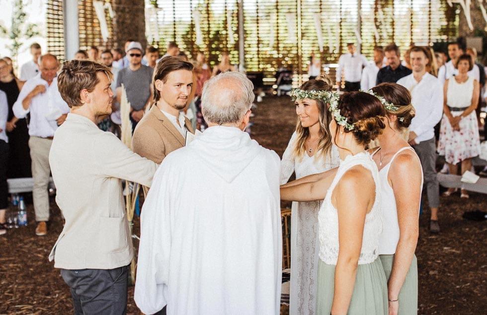 Hochzeitsritual Traukreis