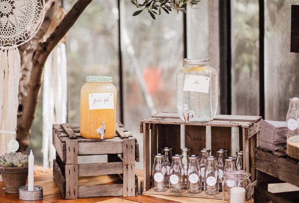 Erfrischungsgetränke Hochzeit