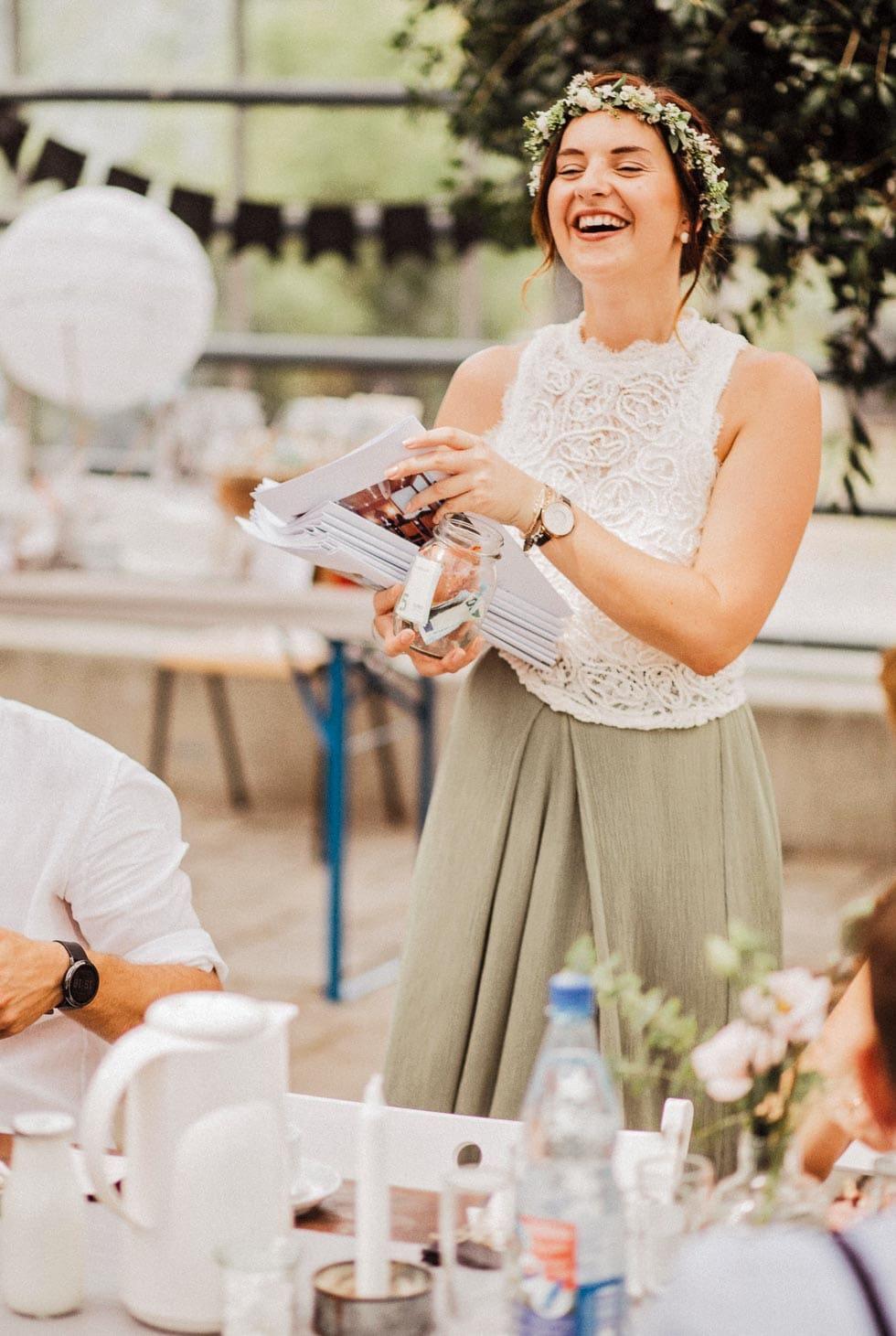 Hochzeitszeitung Trauzeugen