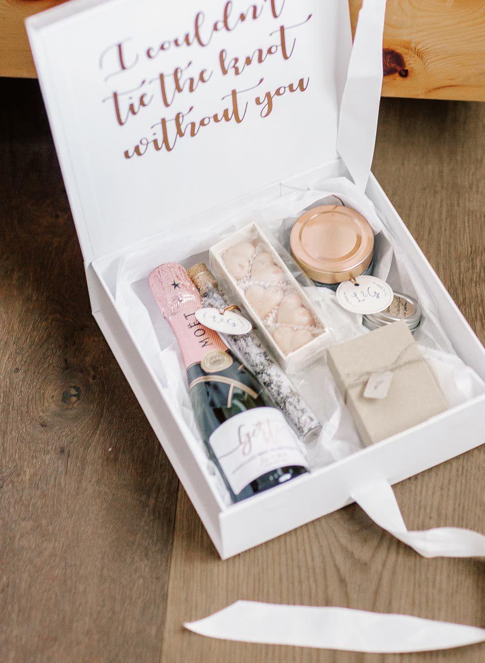 Geschenkbox Brautjungfern