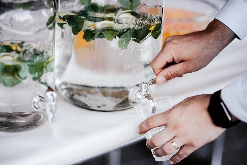 Limonade Hochzeit