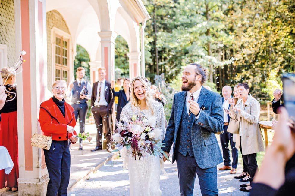 Auszug Brautpaar Standesamt