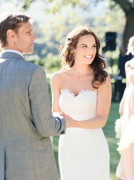 Hochzeitsfoto Brautpaar Freie Trauung