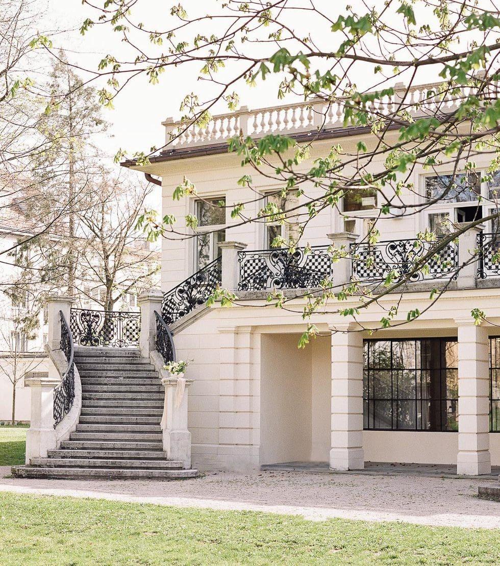 Hochzeitslocation Klimt Villa