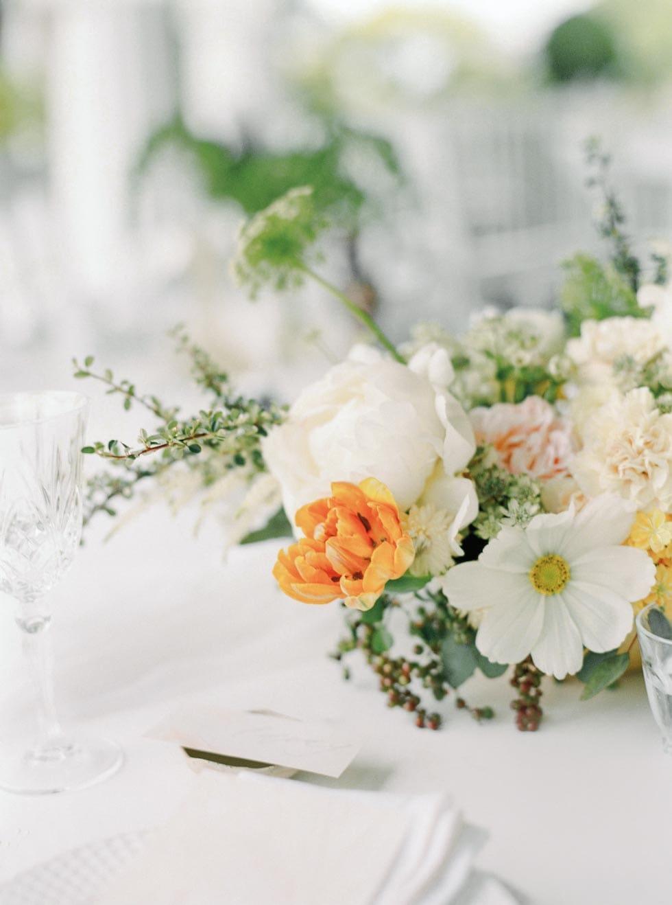 Tischdeko Blumengesteck